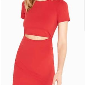 Red Cut Out Express Dress